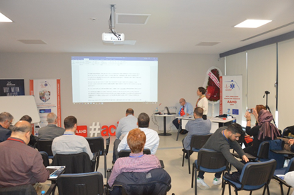 Presentation of the topics at workshop